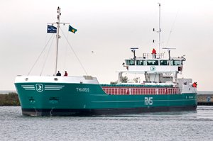 Departure from Urk for seatrials on the IJsselmeer. Picture M.Prummel